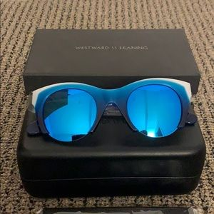 Westward Leaning Paradise 2 sunglasses in blue